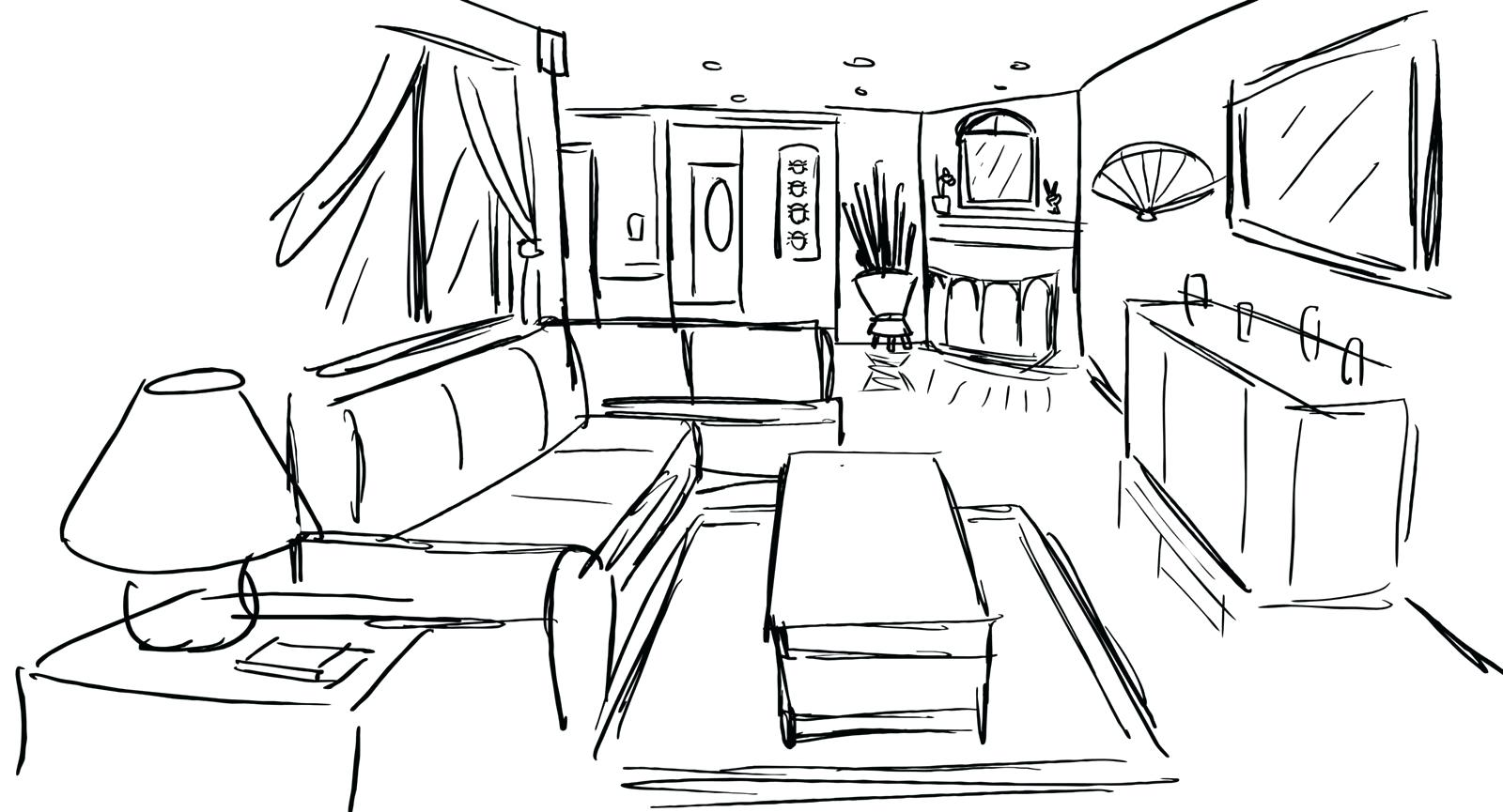 1600x865 Home Design Drawing