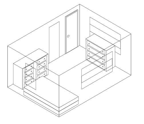 504x432 3d Room Drawing 3d Drawing Of A Room
