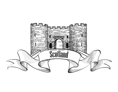 3d Castle Drawing