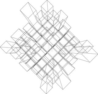 320x305 Abstract White Design 3d Element , Impossible Object