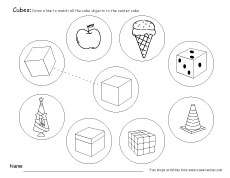 230x178 Free Cube Worksheets For Children