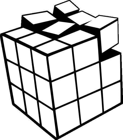 522x594 Rubiks Cube 3d Clip Art