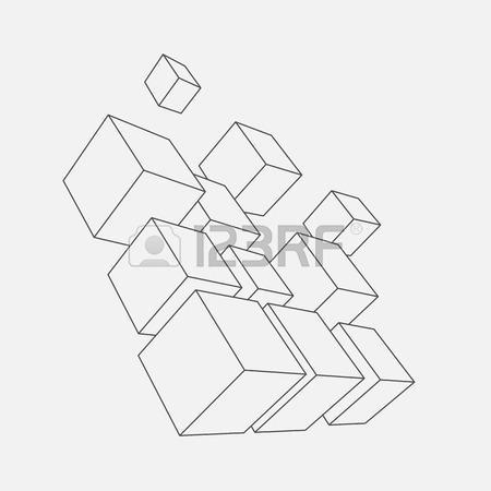 450x450 Vector Illustration Of 3d Shapes Royalty Free Cliparts, Vectors