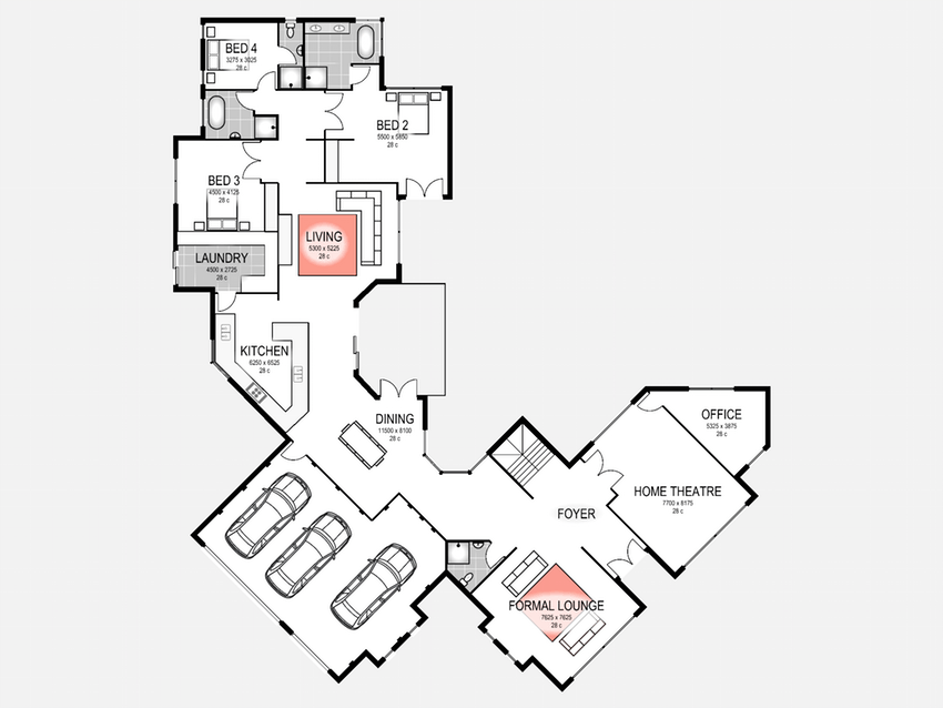 850x638 How To Draw A 3d House Floor Plan Free Plans Software ~ Idolza