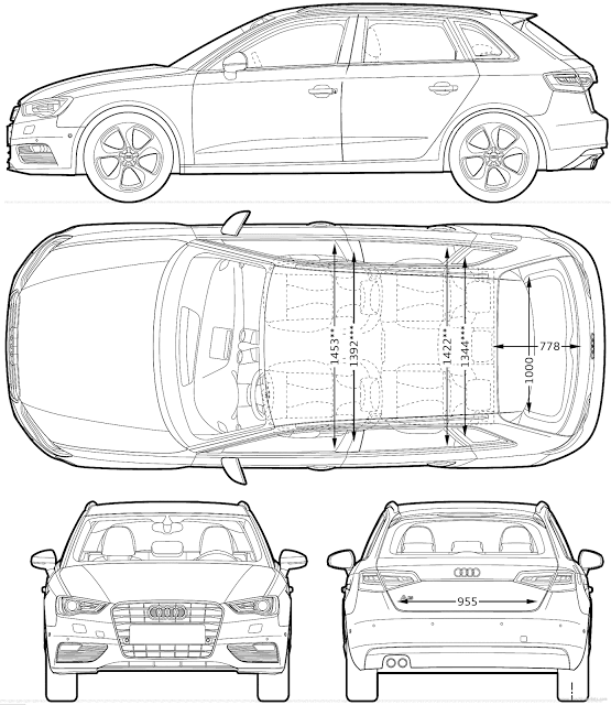 3d drawing of a car at getdrawings free for personal use 3d 555x640 contentuploads201511audi a3 sportback malvernweather Gallery