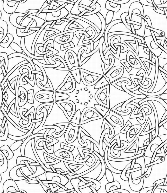 687x794 Impressive Idea 3d Coloring Pages Printable Free 3d Home