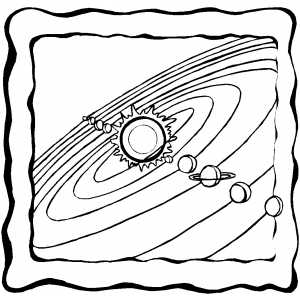 300x300 The Planets In Solar System Coloring Pages