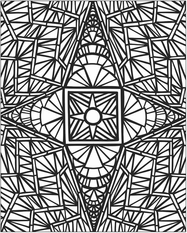 650x806 3d Coloring Pages Printable