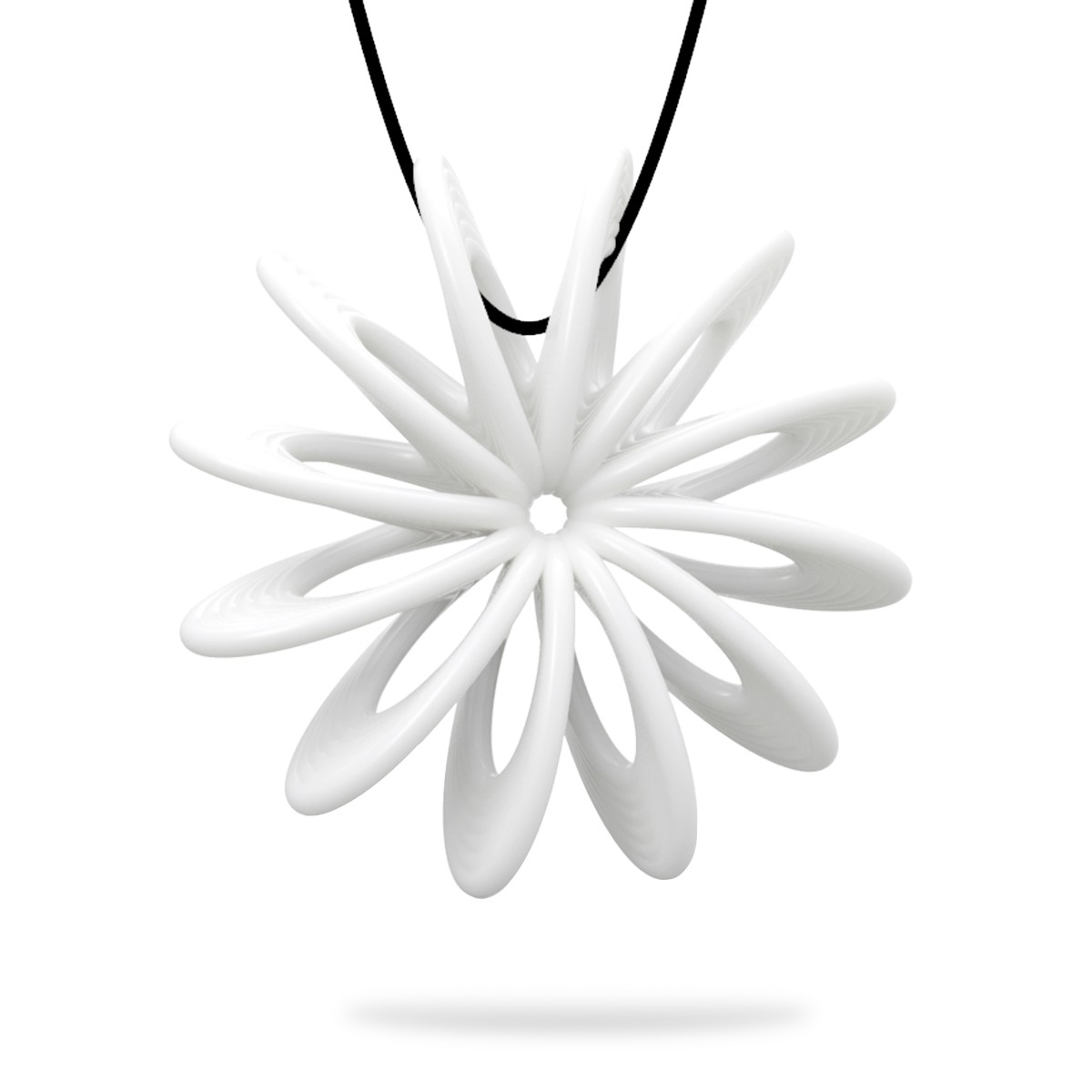 1200x1200 Best And Cheap White Tomfeel 3d Printed Jewelry Blooming Flower