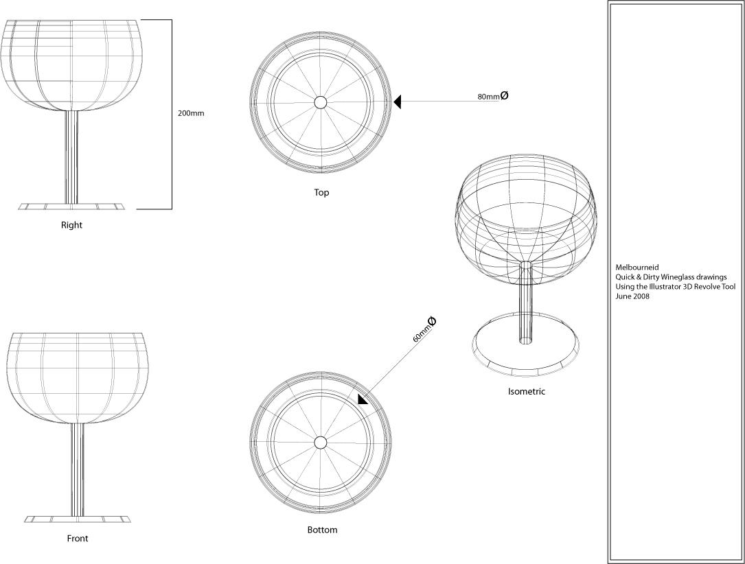 1085x822 Illustrator Cs3 Revolve 3d Effect Melbourne Id