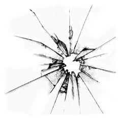 236x236 Broken Glass Drawing