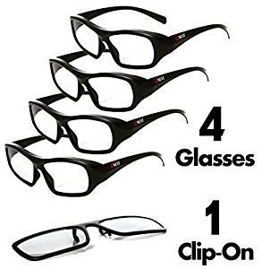 293x300 Passive 3d Glasses For Lg, Panasonic, Toshiba, Amp More