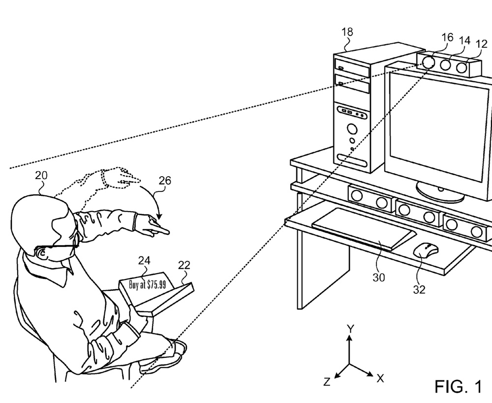 1000x819 Apple's Adaptive Projector Patent Mentions Smart Glasses And 3d