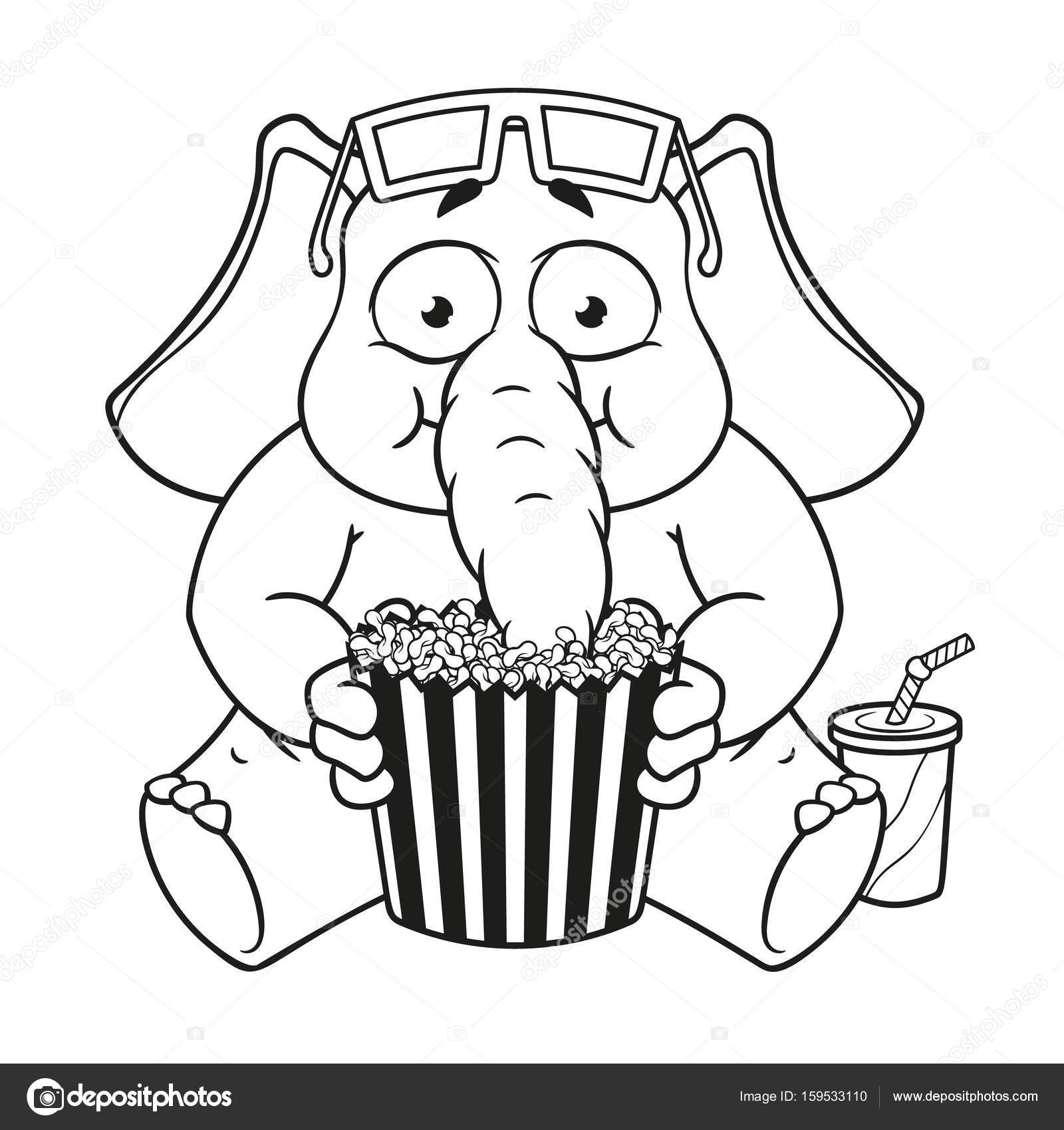1600x1700 Big Collection Vector Cartoon Characters Of Elephants On