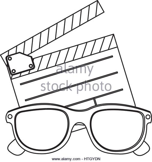 506x540 Cartoon Character 3d Glasses Cut Out Stock Images Amp Pictures