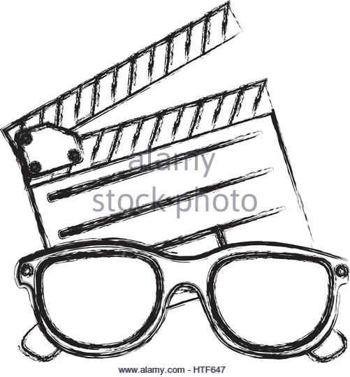 501x540 3d Glasses Stock Vector Images
