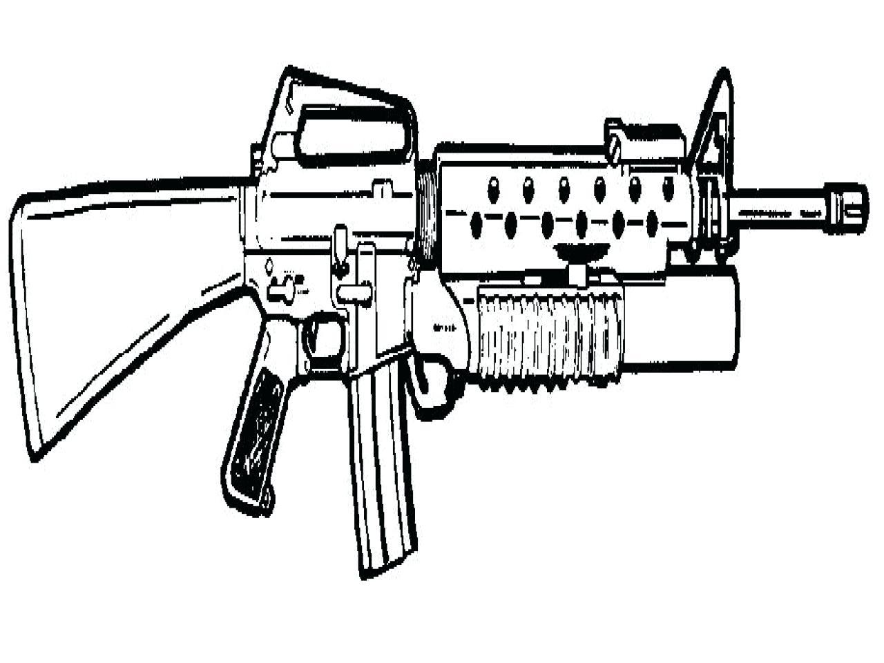 3d Gun Drawing at GetDrawings.com | Free for personal use 3d Gun ...