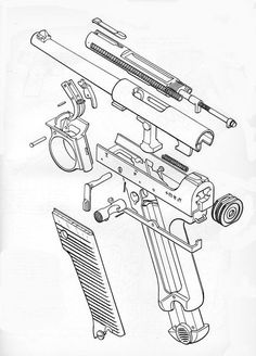 236x328 Technical Drawings Are Rad. Exploded View, Guns And Weapons