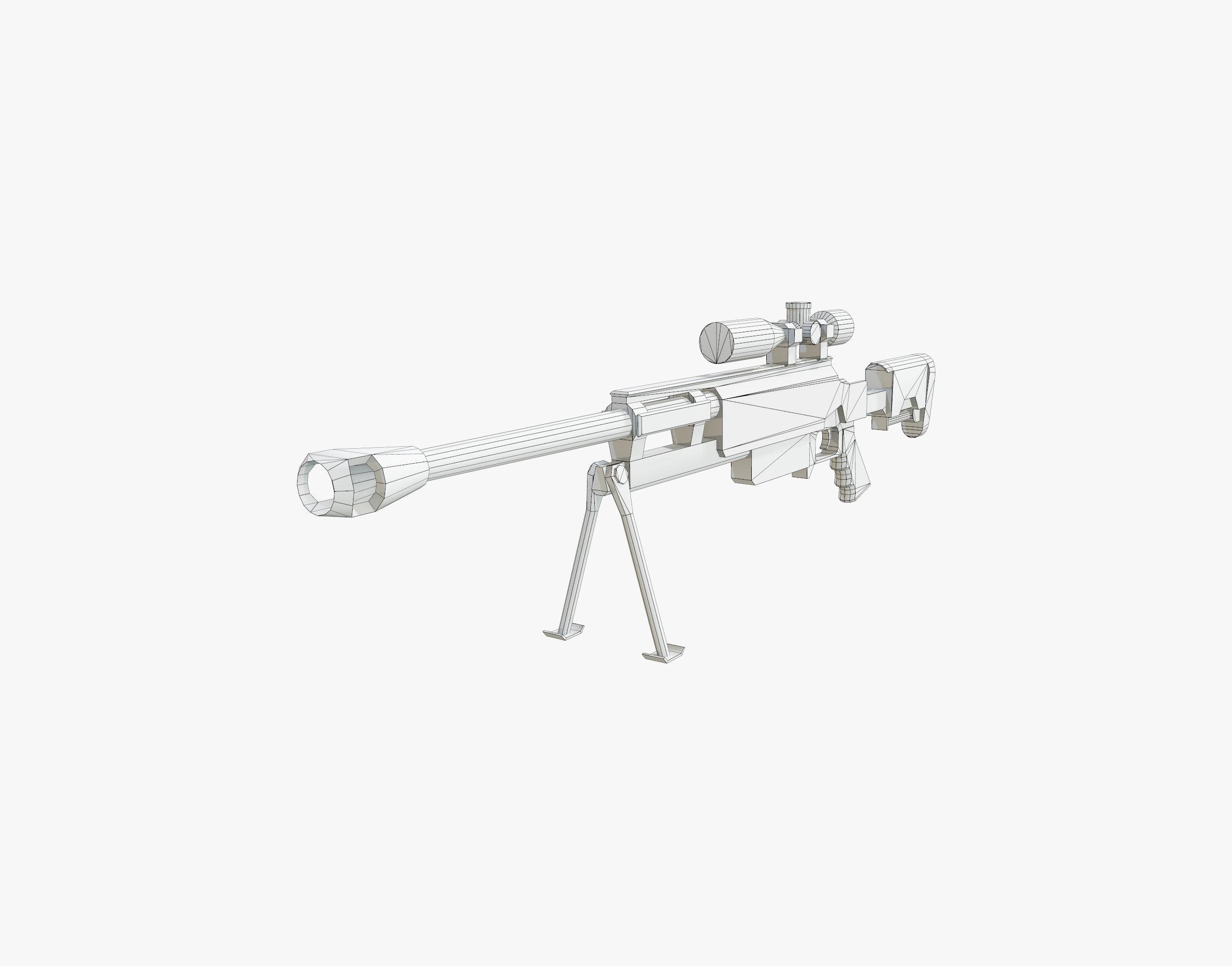2550x2000 3d Asset Sci Fi Gun 06 Cgtrader
