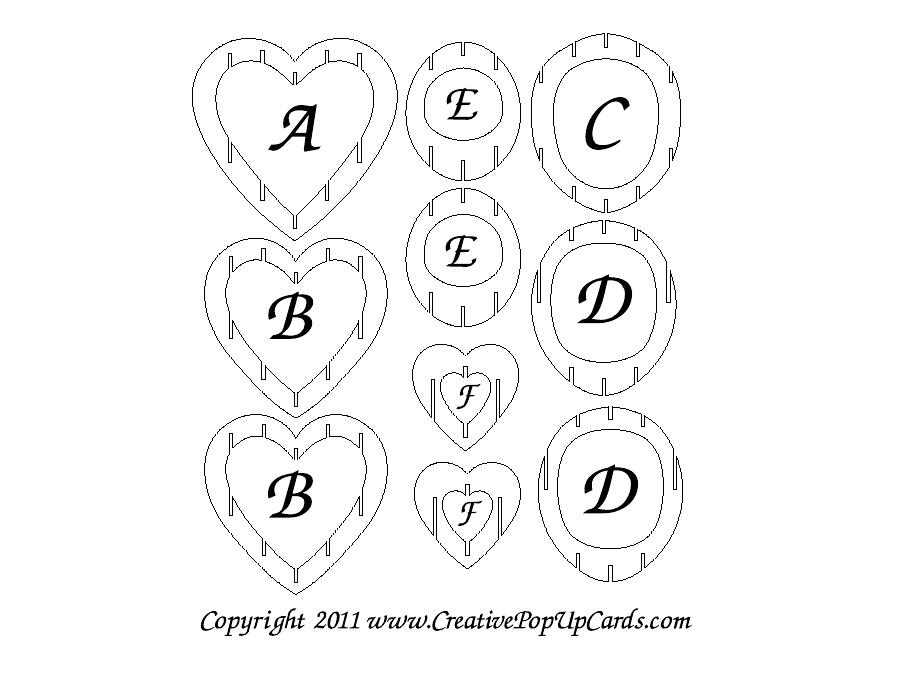 How To Make A Pixel Pop Up Heart Card Creative Ideas DIY Pixel Heart ...