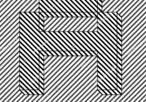300x210 Optical Illusion Letters How To Draw Happy New Year 3d Art Easy
