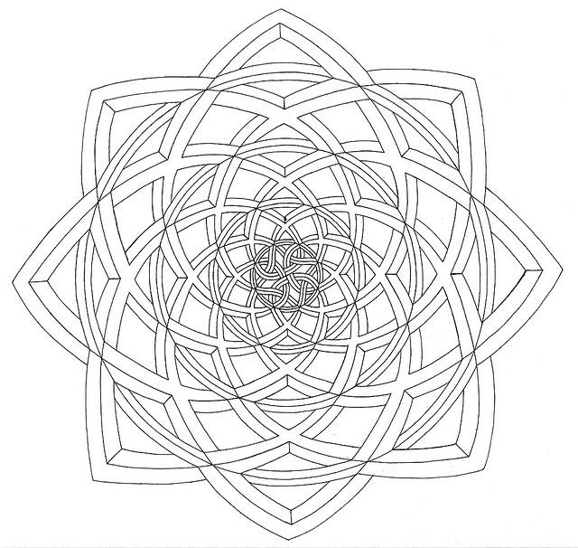 640x606 3d Knot Optical Illusion Jpg Illusions, 3d And Mandala