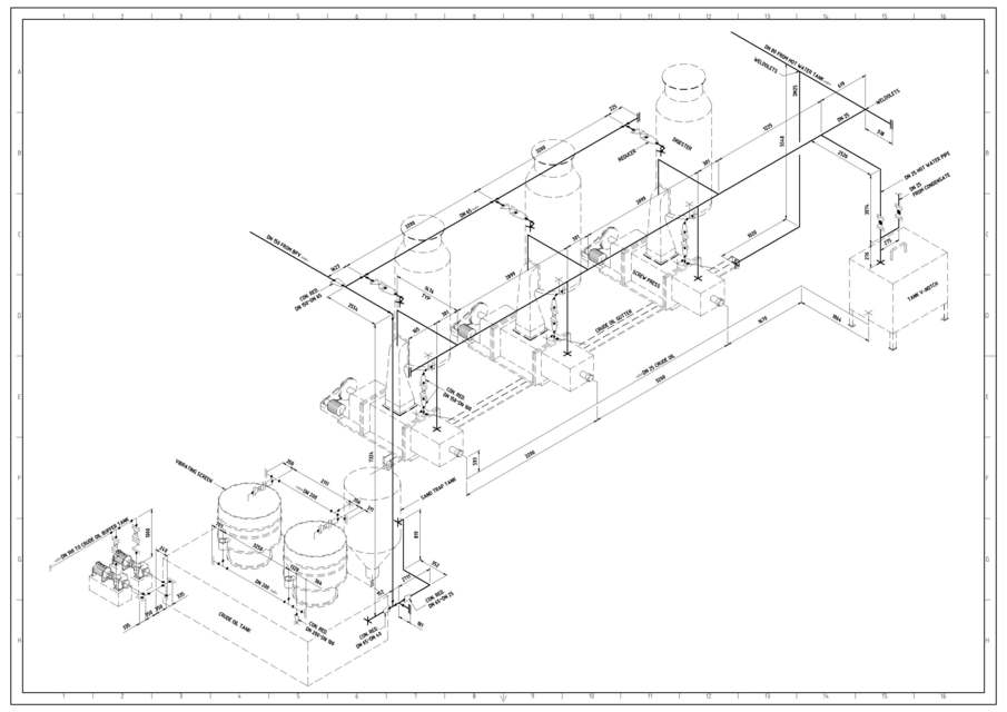 905x640 Piping Isometric