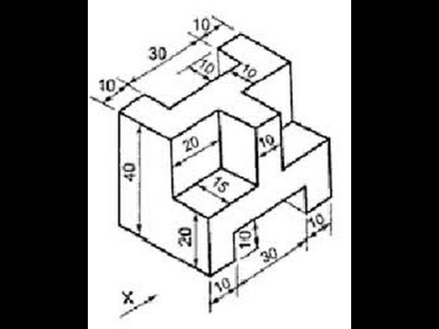 480x360 How To Draw 3d Isometric Drawing