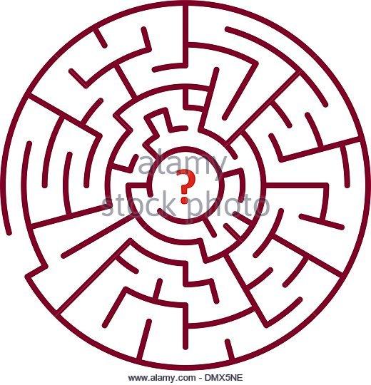 520x540 Round Maze Stock Photos Amp Round Maze Stock Images