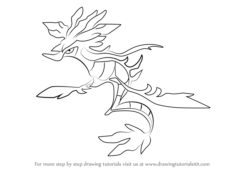 800x565 Learn How To Draw Dragalge From Pokemon (Pokemon) Step By Step