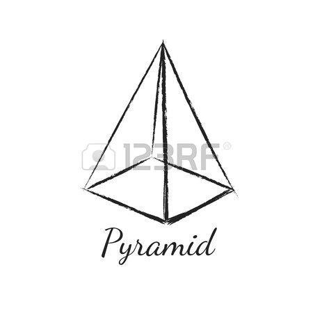 3d Pyramid Drawing