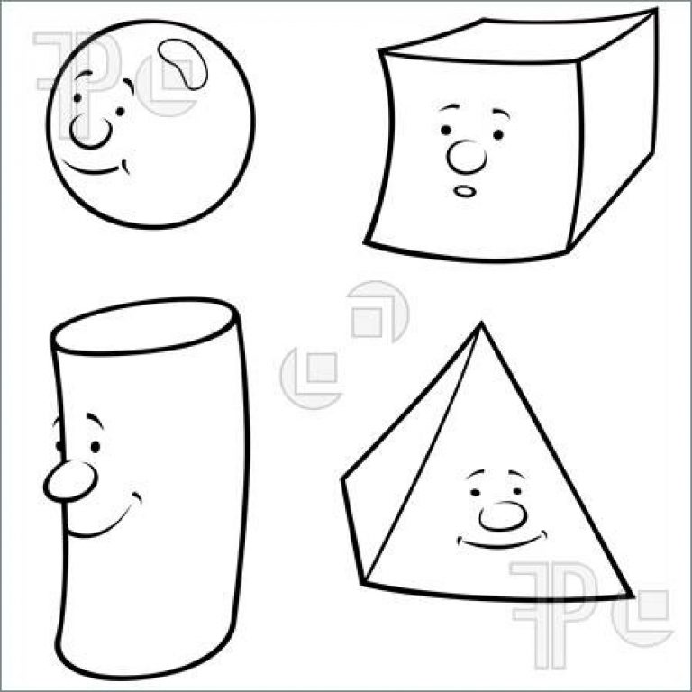 768x768 3d Clipart Black And White Pencil And In Color 3d Clipart Black