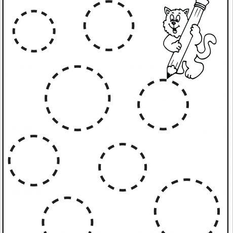 460x460 Free Shape Worksheets Kindergarten Shapes For Students Printable