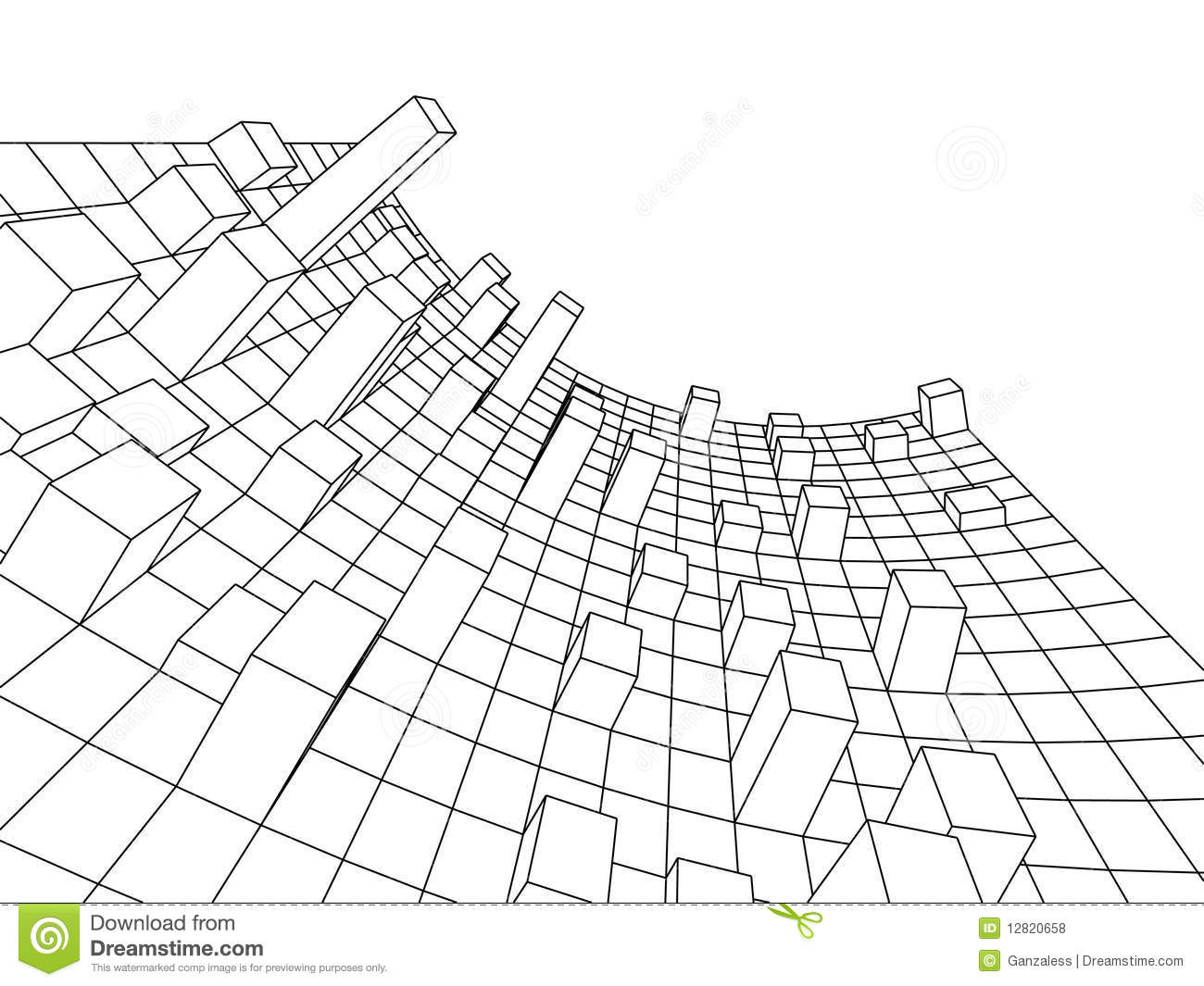 1300x1065 3d Abstract Drawings 3d Pictures Simple Drawing