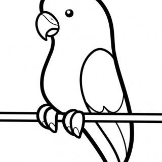 320x320 Drawing Birds For Kids Bird For 3d Drawing