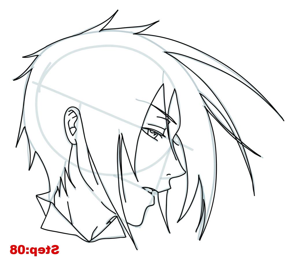 1024x907 Easy Anime Drawing Tutorial