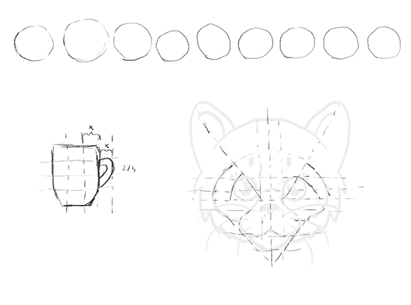 600x445 I Want To Draw Simple Exercises For Complete Beginners