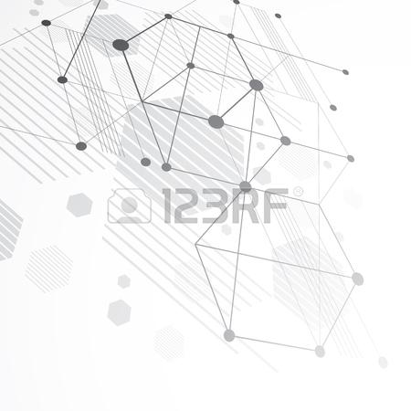 450x450 Modular Bauhaus 3d Vector Monochrome Background, Created