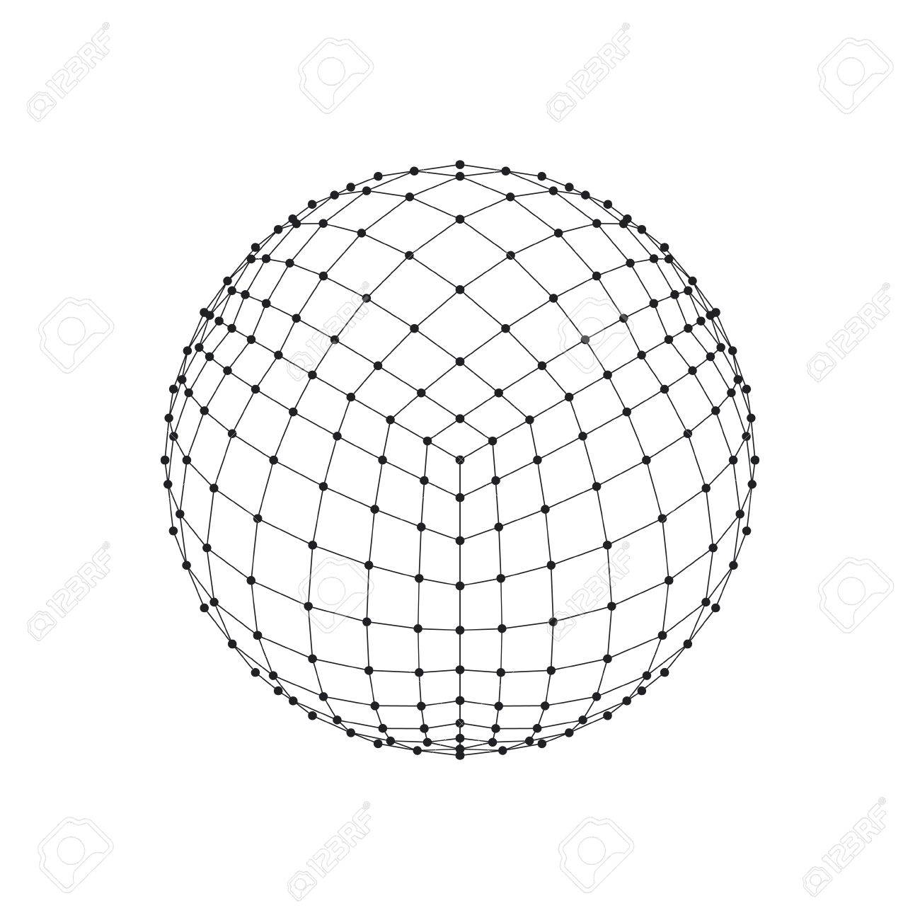 3d Sphere Drawing