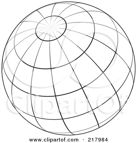 450x470 Sphere Of Coloring Sheets 3d Sphere Drawing
