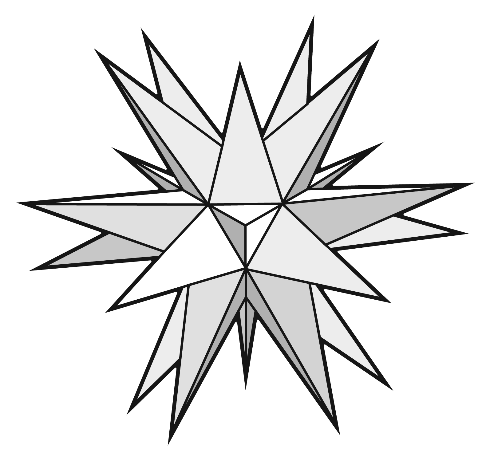 3d Star Drawing at GetDrawings.com | Free for personal use 3d Star ...