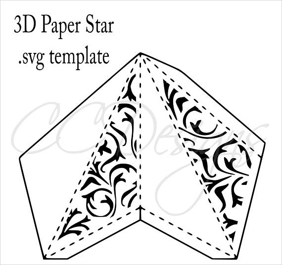 3d Star Drawing At Getdrawings Free For Personal Use 3d Star