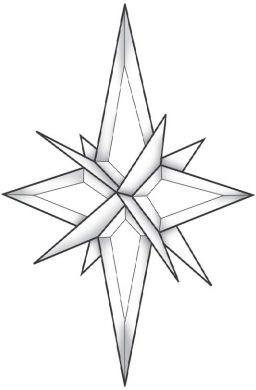 256x390 3d Star Bevel Cluster Ec343