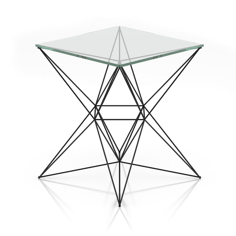800x800 Model Glass Table