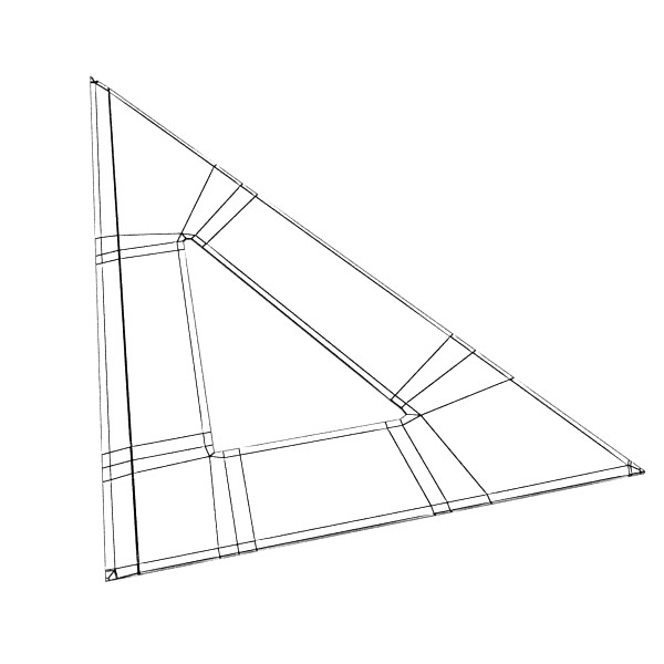 600x600 3d Model Angle Bevel Ruler 02 3d Model Industrial 3d Models Bevel
