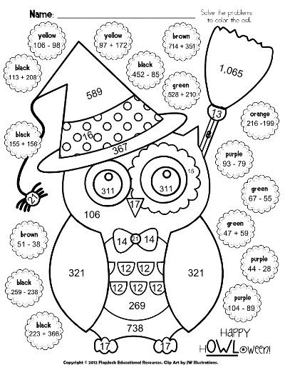 400x518 First Grade Halloween Coloring Sheets Colouring For Fancy Draw