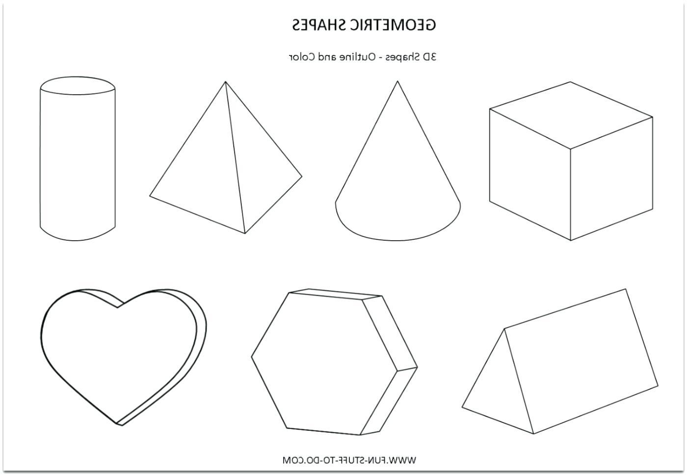 1400x971 Worksheet Geometry 3d Shapes Worksheets