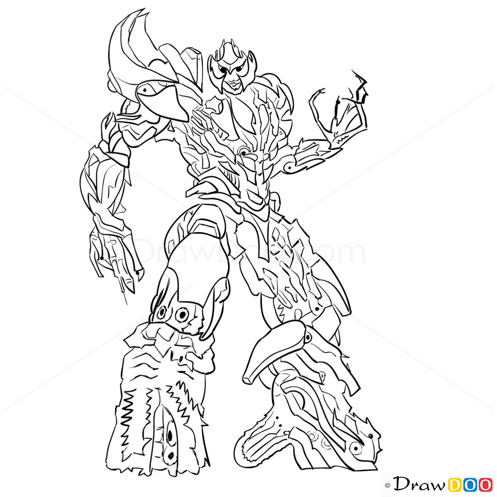 1000x1000 How To Draw Megatron, Transformers