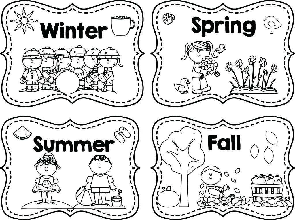 1024x764 Season Coloring Pages Seasons Ng Sheet Season Ng Pages I On March
