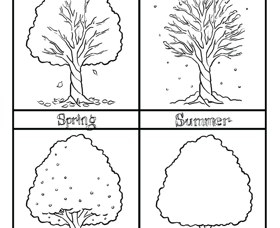 coloring pages seasons - photo#26